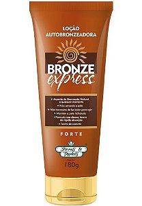 Loção Autobronzeadora Bronze Express 180g - Flores e Vegetais