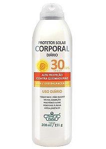 Protetor Solar Corporal Diário 30FPS Spray 200ml/151g - Flores e Vegetais
