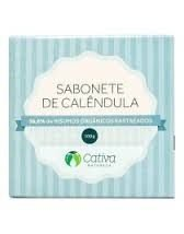 Sabonete Vegetal de Calêndula - 100g - Cativa Natureza