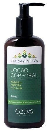 Loção Hidratante Corporal Maria da Selva 240ml - Cativa Natureza