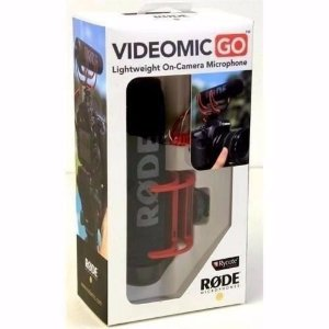 Microfone Røde Videomic Go Direcional Super Cardioide