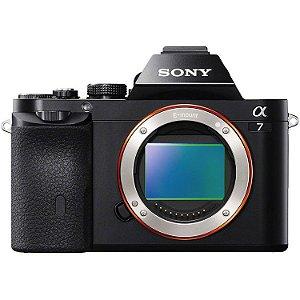 Câmera Sony Mirrorless A7 II (Corpo)