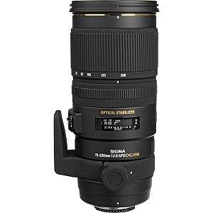 LENTE SIGMA 70-200mm F/2.8 EX DF OS HSM PARA NIKON