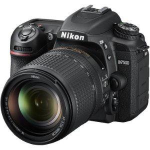 NIKON D7500 KIT AF-S 18-140 VR         (FILMA EM 4K)