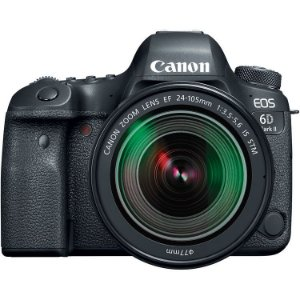 CANON EOS 6D MARK II KIT C/LENTE EF 24-105mm f3.5-5.6 STM