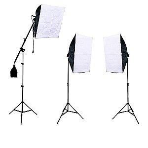 Kit de Iluminação para Estúdio Fotográfico SB-03K 510w