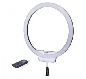 ILUMINADOR LED RING LIGHT YONGNUO YN608 COM FONTE E TRIPÉ