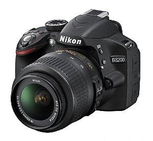 NIKON D3200 C/ LENTE 18-55MM VR