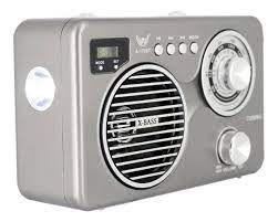 Radio Am/Fm Portatil Bluetooth usb lanterna aux.