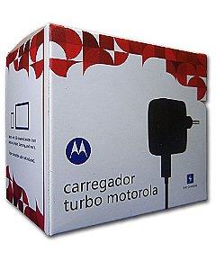 Fonte Carregador Turbo Moto G Maxx Moto X2 + Cabo S4 S5 S7