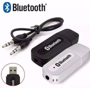 Adaptador Receptor Bluetooth Usb + p2 para carro