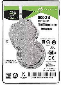 Hd Seagate 500gb Notebook Barracuda 2.5
