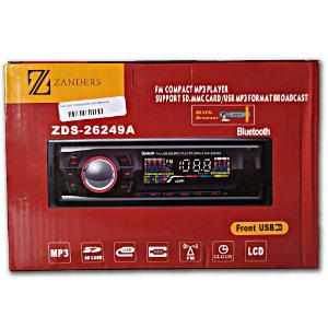 Auto radio Fm/sd/usb/mp3 com Bluetooth