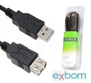 CABO EXTENSOR USB 10 METROS COM FILTRO