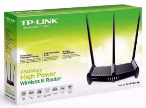 Roteador Wireless Tl Wr 941hp 1000mw Antena 8dbi