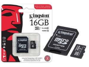 Cartao de memoria 16 giga Kingston