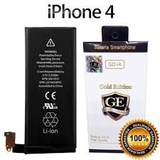 Bateria Iphone 4/4G Gold Edition