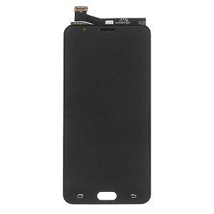 Frontal Samsung J7 Prime G610F preto Original CH