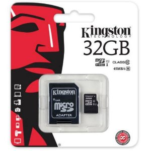 Cartao de memoria 32 giga Kingston Classe 10