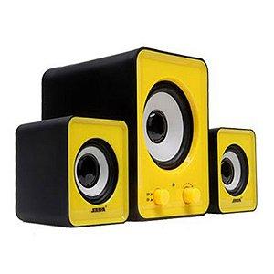 Caixa de som Vox cube 2.1 VC-G200 11W