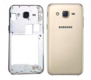 Carcaça Samsung J700 Dourado