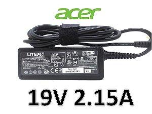 Fonte Carregador Notebook Acer Liteon 19v 2.15a