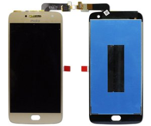 Frontal Motorola Moto G5S Plus Original dourado