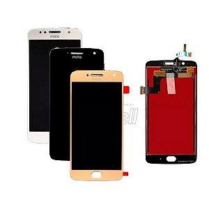 Frontal Motorola Moto G5S Plus Preto *AAA*