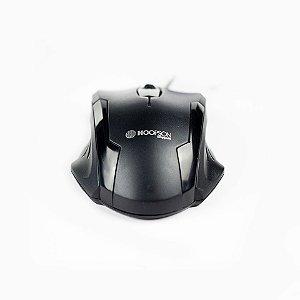 Mouse Óptico Hopson Com Fio Grande MS-032X