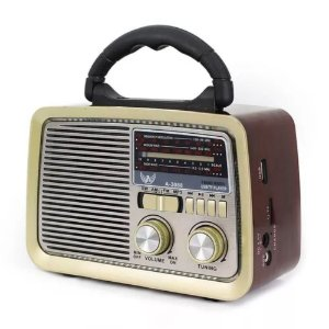 RADIO AM/FM RETRÔ ALTOMEX A-3188
