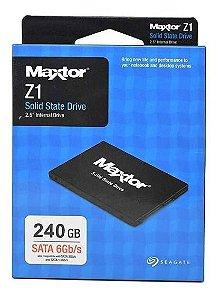 """Hd ssd 240 GB Seagate Maxtor 2.5"""" sata 6Gb/s"""