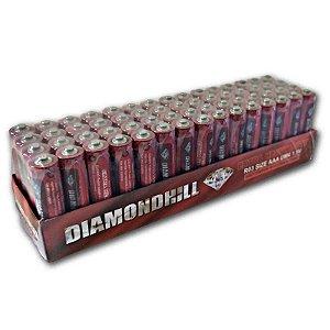 Pilha Comum 3A tubo com 60 Diamondhill