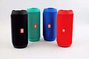 Caixa Som Bluetooth Jbl Mini Charge 2 + Aux Usb P2