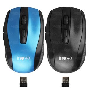 Mouse sem fio Inova MOU-6942