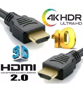 Cabo Hdmi 4K 1.5 mtrs