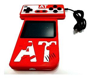 Mini Game Portátil Com 400 Jogos  Mais 1 Controle