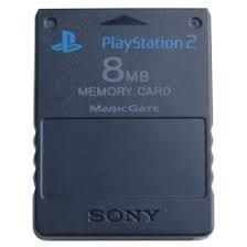 MEMORY CARD PS2 8M