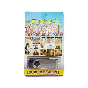 Pendrive musical 700-1000 musicas o melhor do gospel