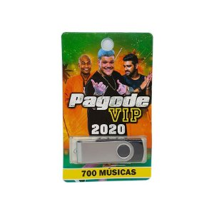 Pendrive musical 700-1000 musicas pagode vip 2020