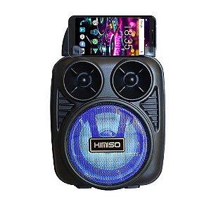 Caixa De Som Bluetooth usb/card/p2 Com Suporte Para Celular