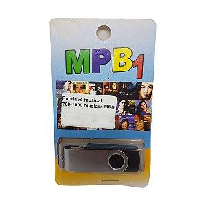 Pendrive musical 700-1000 musicas MPB