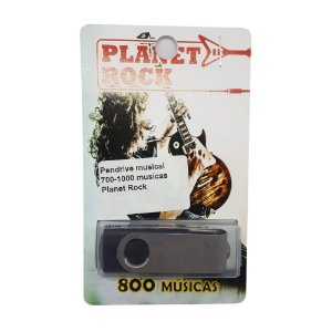 Pendrive musical 700-1000 musicas Planet Rock