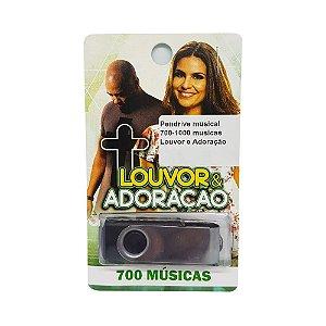 Pendrive musical 700-1000 musicas Louvor e Adoração