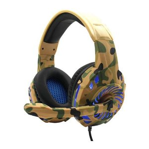 Fone de Ouvido Headfhone Gamer  Camuflado G305/g312 Pro Pc Series