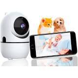 Camera IP WIFI para Monitoramento e Babá eletronica
