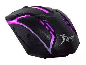 Mouse Gamer Knup KP-V15 Gaming Preto 7d / 1600dpi 3 Botões