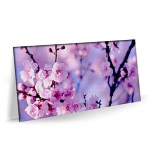 Quadro Flores Natureza Sakura Tela Decorativa
