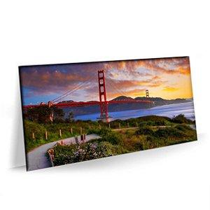 Quadro Ponte Golden Gate Tela Decorativa