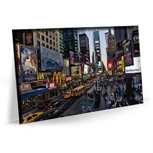 Quadro Nova York Times Square  Tela Decorativa