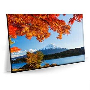 Quadro Natureza Monte Fuji Sala Tela Decorativa